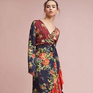 Anthropologie Farm Rio Audrey Wrap Dress XXSP